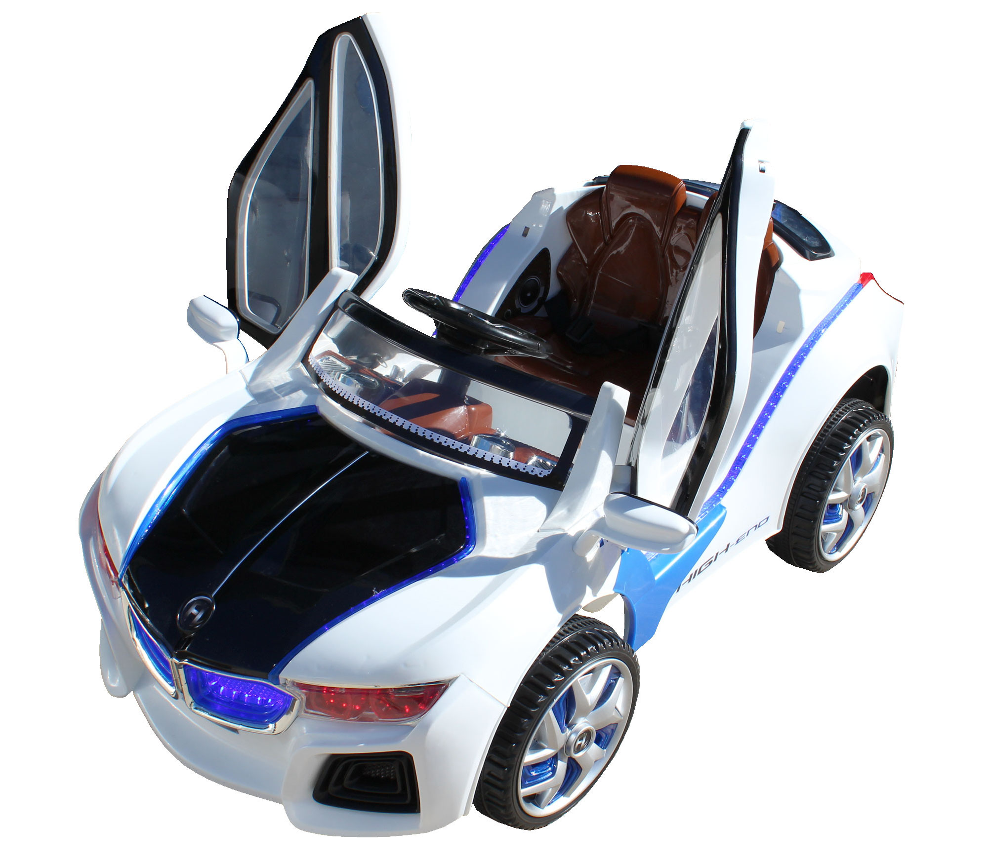 bmw kids ride on car 60w motor 12v rechargeable 2 speed